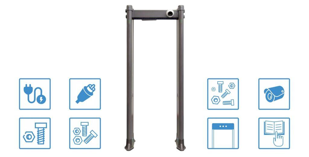 1800 mk 1024x522 - Арочный металлодетектор БЛОКПОСТ PC 1800 MK с функцией температурного контроля