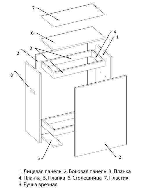 tumba 2.jpg - Тумба досмотровая для арочного металлодетектора