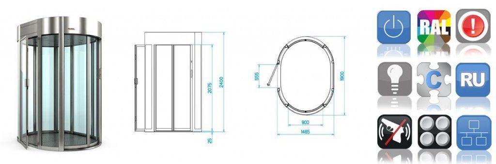 572f6836dc3156be72383d36c3a4d58d1 - Шлюзовая кабина SAIMA GATE BOX