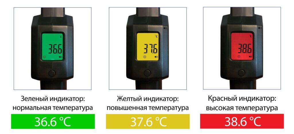 Metallodetector termodatchik1 1024x468 - Ручной металлодетектор БЛОКПОСТ РД 1000 Т с измерением температуры тела