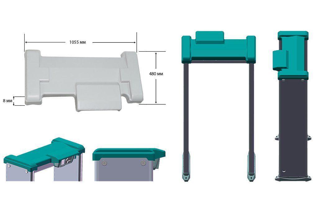 Защита металлодетекторов от пыли и влаги