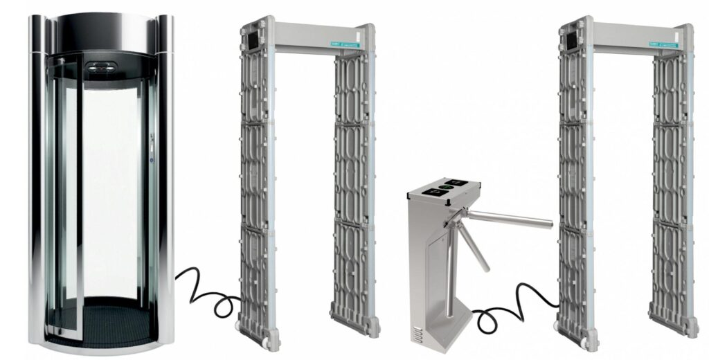 kabina turniket PCZ 800 1600 2400 1.jpg scaled1 1024x520 - Арочный металлодетектор БЛОКПОСТ PC Z 3