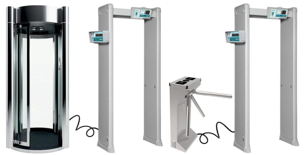 kabina turniket PC I 6.jpg scaled1 1024x522 - Арочный металлодетектор БЛОКПОСТ РС И 6 с измерением температуры тела