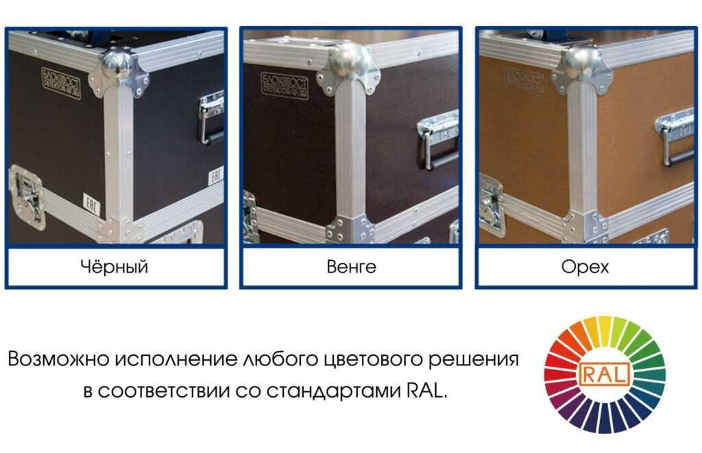 kofr zvet korpusa.jpg scaled1 1024x662 - Кофр для арочного металлодетектора БЛОКПОСТ